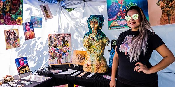 Artist, Vendors & Food Market